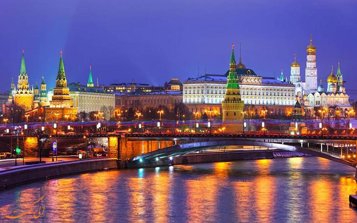 تور سنت پترزبورگ و مسکو الی گشت