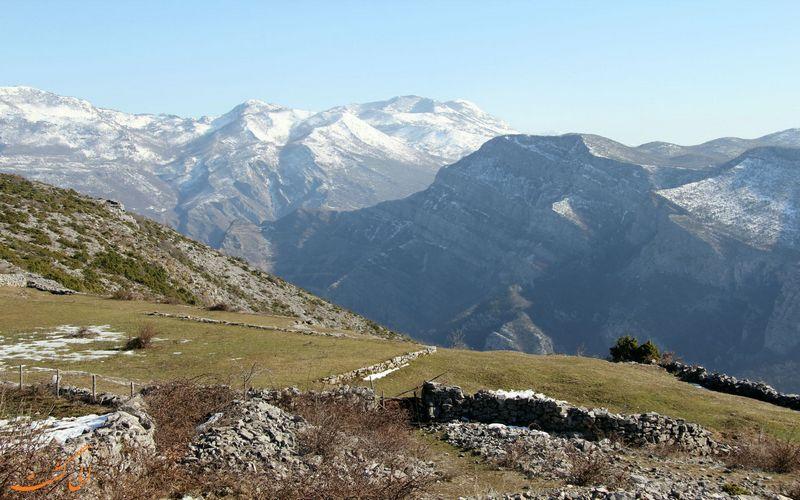 طبیعت زیبای روستای دینوسا در مونتنگرو