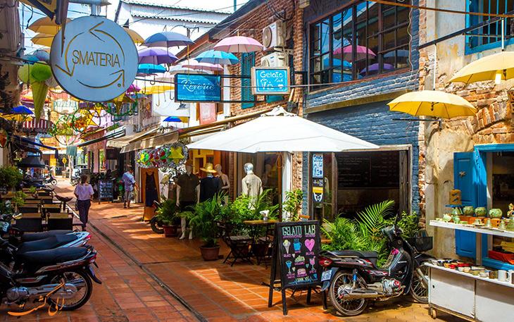 شهر سیم ریپ در کامبوج