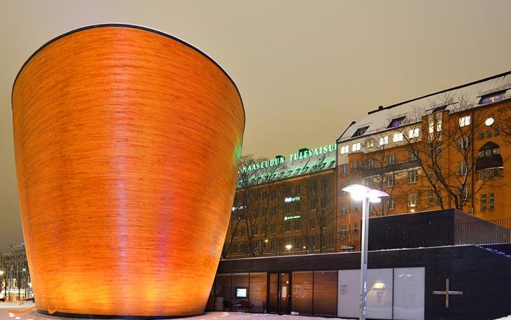 سازه مدرن در هلسینکی