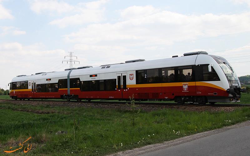 قطار مسیر فرودگاه