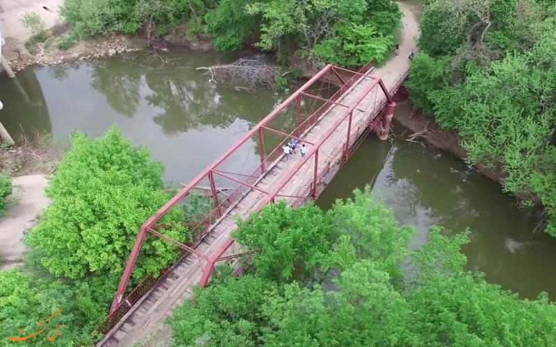 نمای پل آلتون از بالا