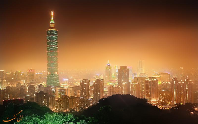 دورنمای برج تایپه 101