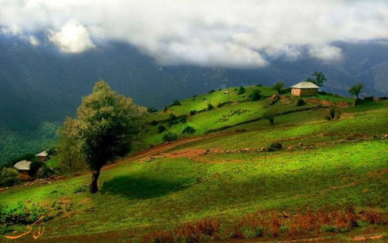 روستای آلاشت در سوادکوه