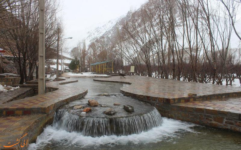 منطقه گردشگری ازناو خلخال