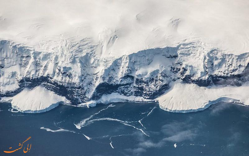 بزرگترین جاذبه های طبیعی- قطب جنوب