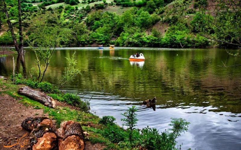 دریاچه زیبای شورمست