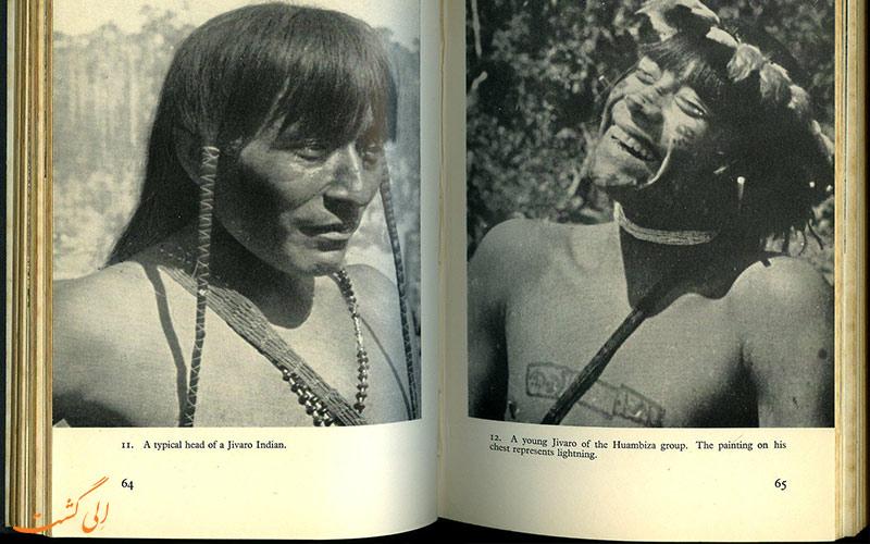 افراد قبیله جیوارو در آمازون
