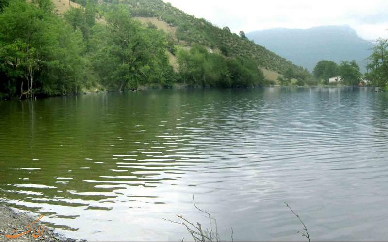 دریاچه زیبای شورمست سواکوه مازندران