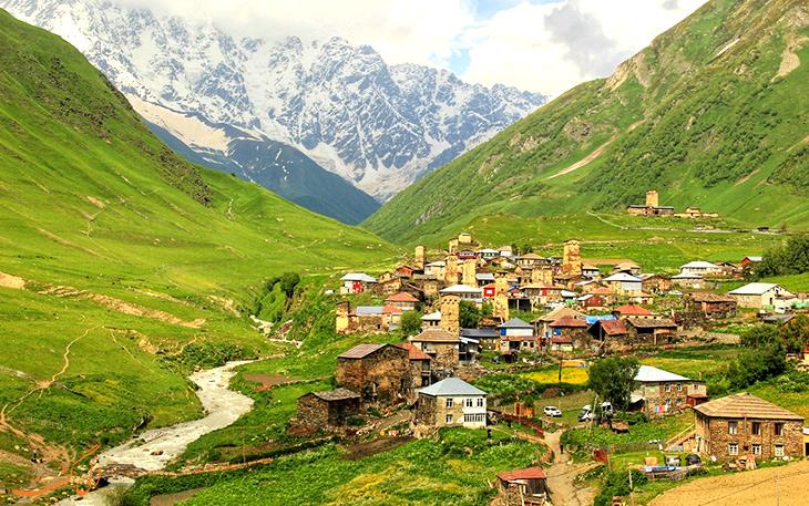 شهرهای گرجستان