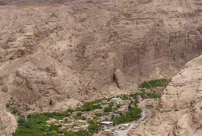 روستای قطرم در بافق