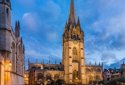 کلیسای سنت ماری ویرجین در آکسفورد