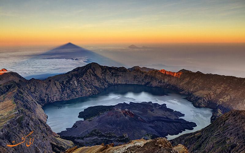 کوه رینجانی | جاذبه های طبیعی اندونزی