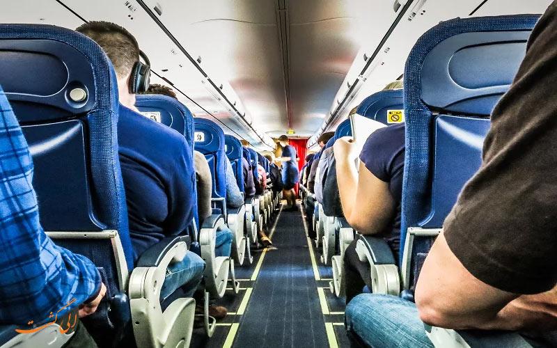 صندلی در هواپیما