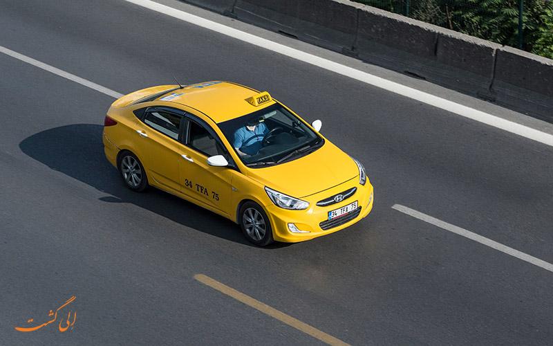 تاکسی گرفتن در استانبول