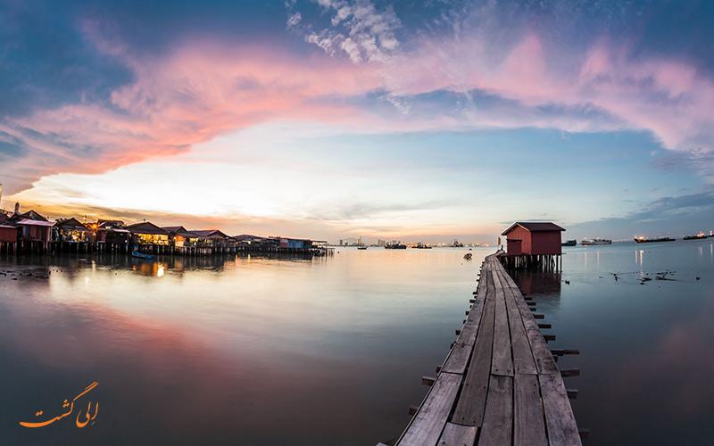 رفتن از کوالالامپور به پنانگ