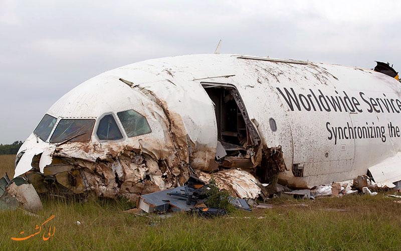 بدترین سقوط های هواپیما