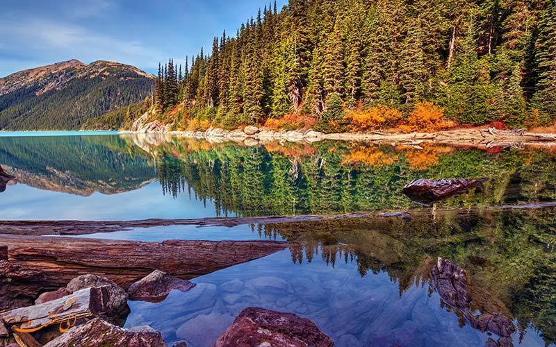 طبیعت گردی در ونکوور
