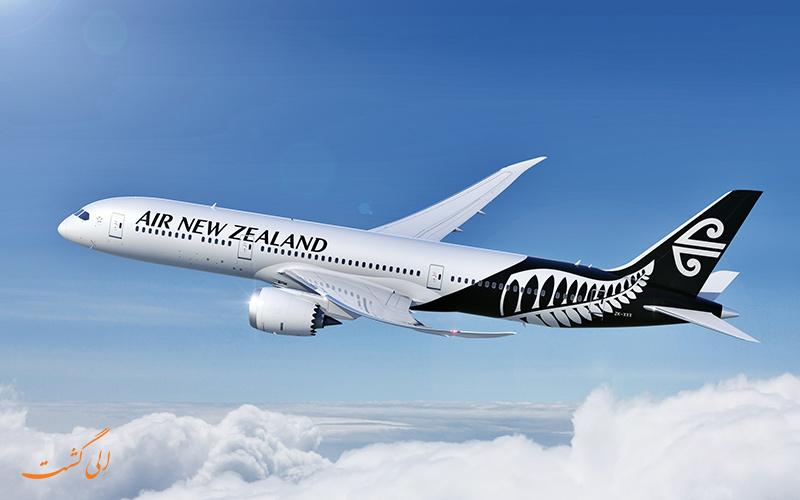 هواپیمایی های جهان   ایر نیوزیلند