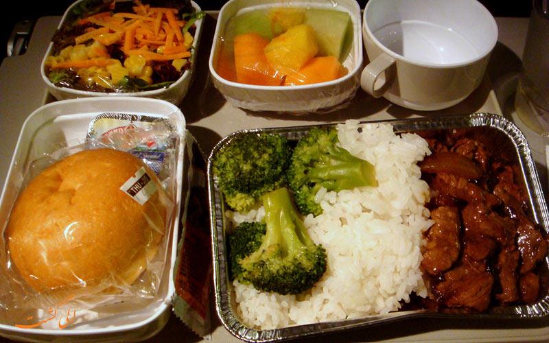 غذای هواپیماها