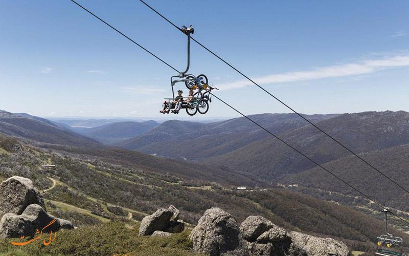 کوه کازیسکو در استرالیا