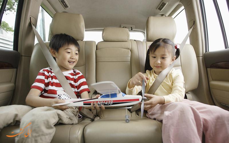 سفر خانوادگی با ماشین