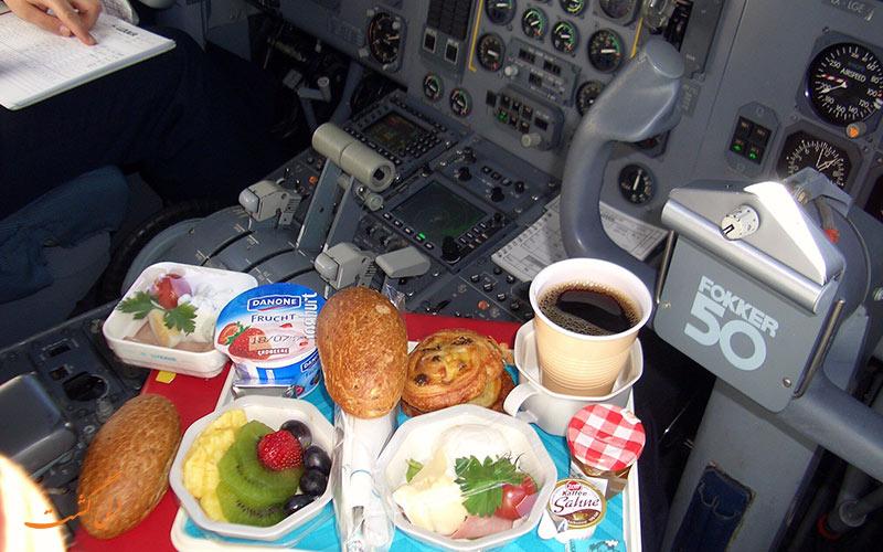 غذای خلبان