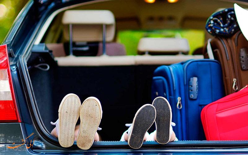 سفر خانوادگی با خودرو