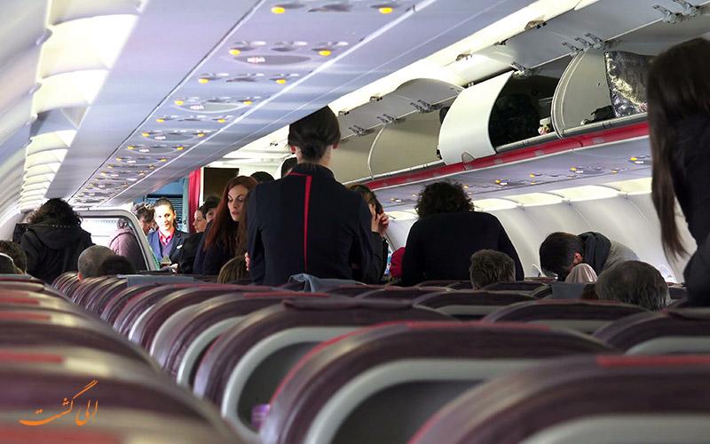 انتخاب صندلی در پرواز