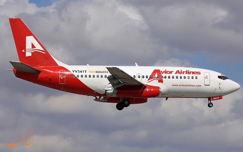 اویور ایرلاینز، ونزوئلا   Avior Airlines, Venezuela
