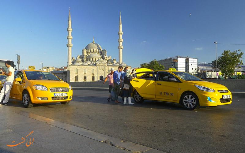 گرفتن تاکسی در استانبول