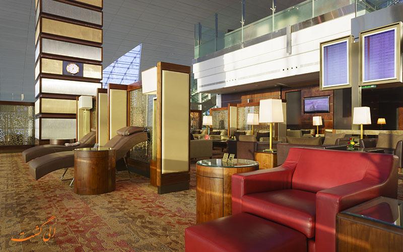 سالن انتظار شرکت هواپیمایی امارات