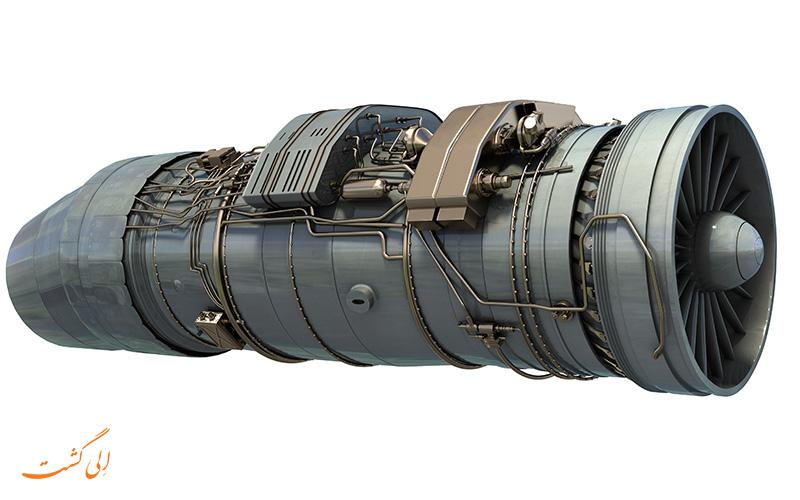 موتور هواپیمای جت