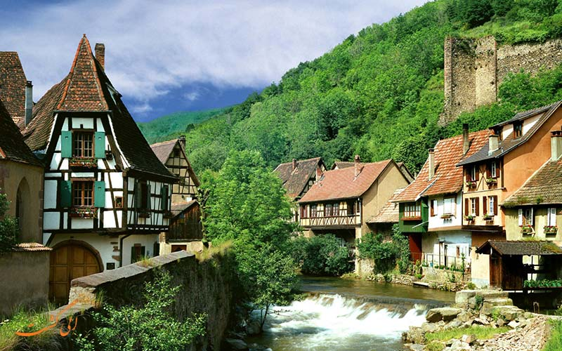 شهری کوچک در اروپا
