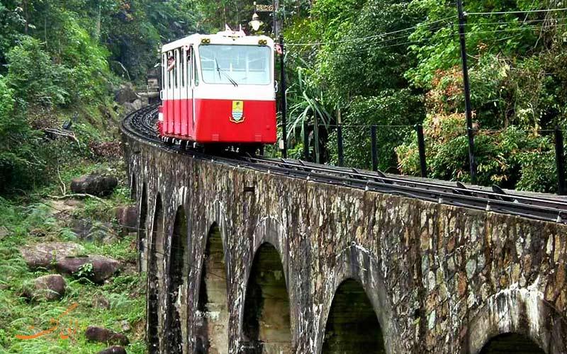 قطار فانتزی تپه پنانگ