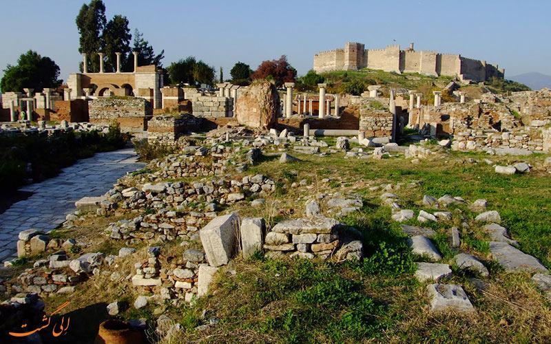جاذبه های معروف شهر سلجوک در ترکیه