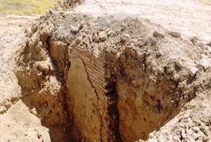 کشف محوطه تاریخی در ری