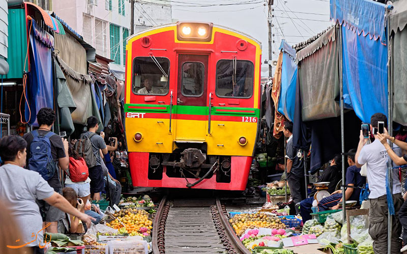 بازار ریلی مائک لانگ بانکوک