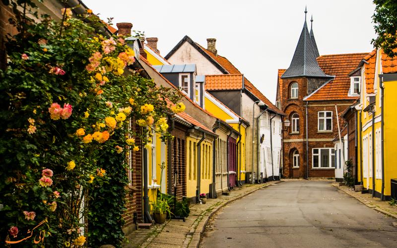جاذبه های گردشگری شهر ریبه دانمارک