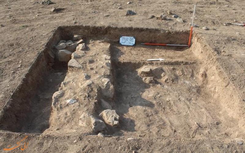 کشف آثار باستانی در روستای فیلده