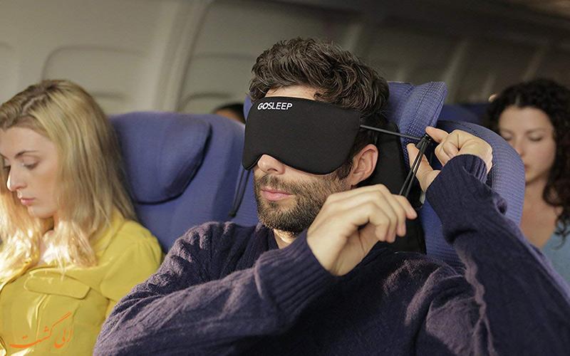 ساعت های ممنوعه خوابیدن در هواپیما