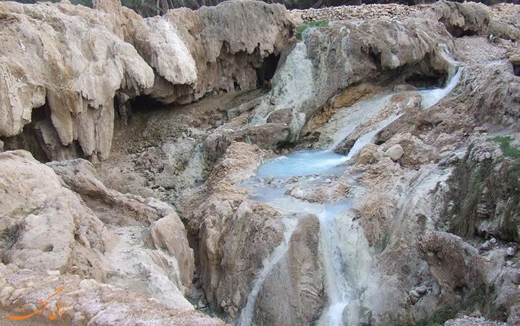 چشمه های آبگرم گنو در بندرعباس
