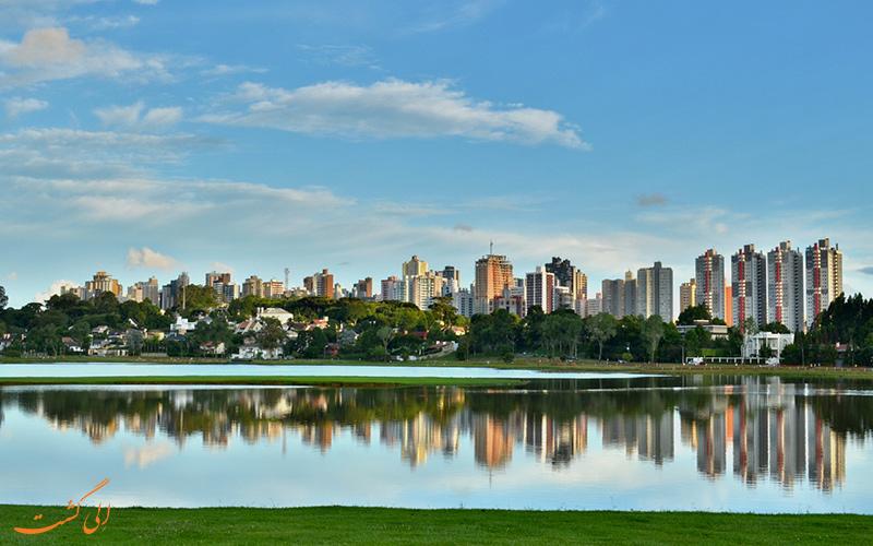 شهر کوریتیبا در برزیل