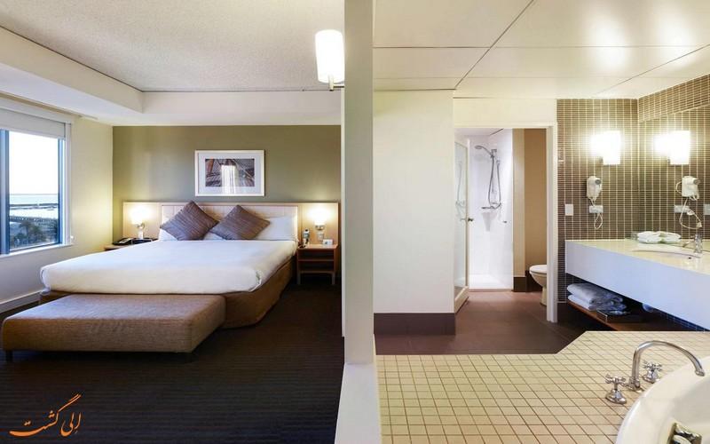 اتاق های هتل نووتل ملبورن