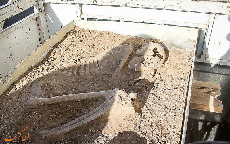 اسکلت 7500 ساله