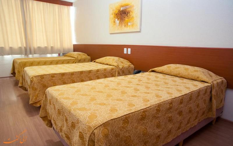 اتاق های هتل 3 ستاره ناسیونال این