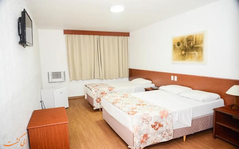 اتاق های هتل 3 ستاره ناسیونال در برزیل