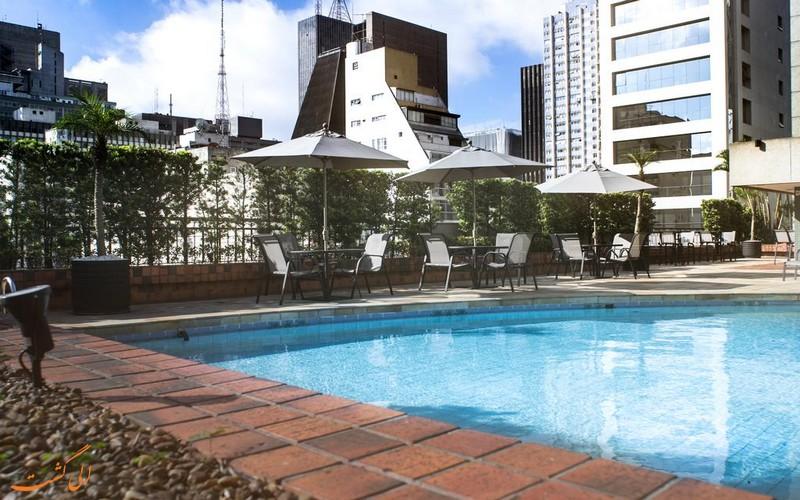هتل 5 ستاره اینترکانتیننتال در سائوپائولو