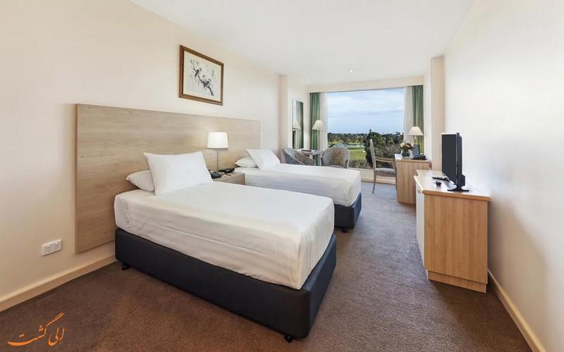 اتاق های هتل بای ویو پارک در ملبورن