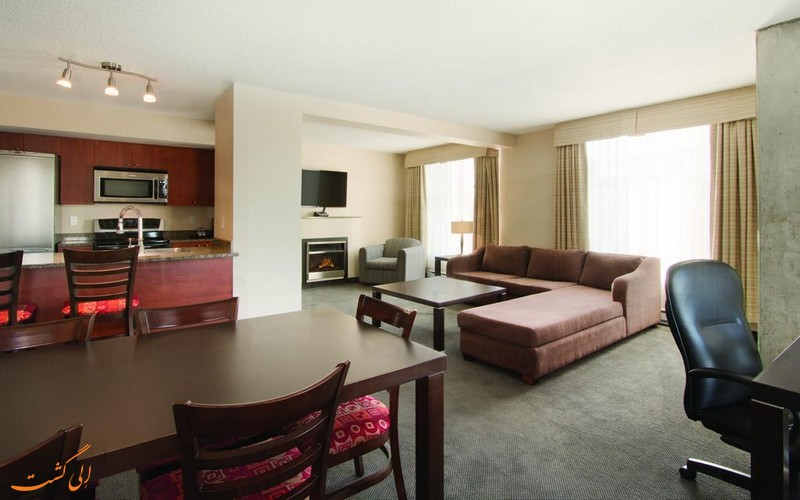 هتل 4 ستاره امبسی سوییتز